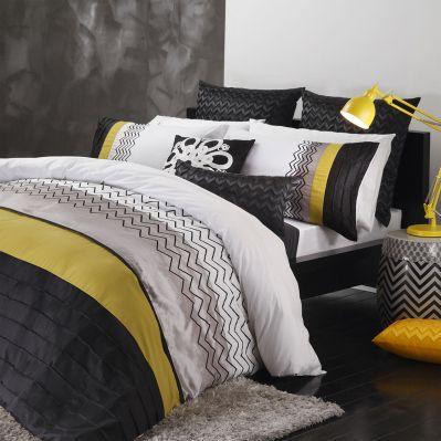 Lorenzo Citrus Quilt Cover Set by Logan & Mason | shopinside.com.au