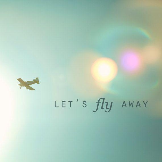 ***** Let 's fly away ***** par camillebellet sur Etsy