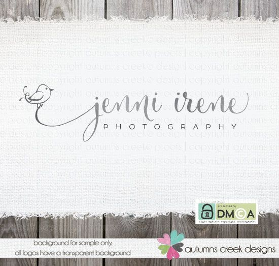 © originally created, posted and copyrighted 5.26.2014 © design, wording & photos are copyright autumns creek 2014  ♡ item ♡ [jenni] - your name in a gorgeous script with a little hand drawn bird atop a swash coming from your name. you can choose the grey or the colored version (i can change color to what you want) watermark on photo shown using the add-on black and white set.  ♡ changes included ♡ i will gladly change the name and if you want, the colors.  ♡ files included ♡ your files…