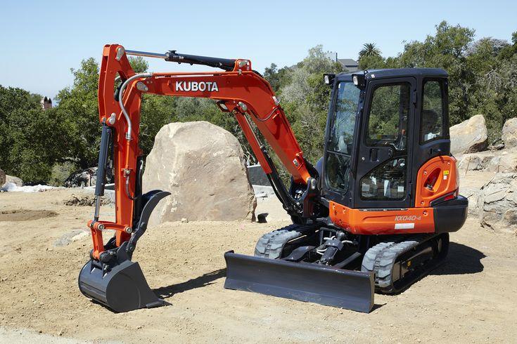 Kubota KX040-4 mini-excavator | Excavators content from Rental Equipment Register