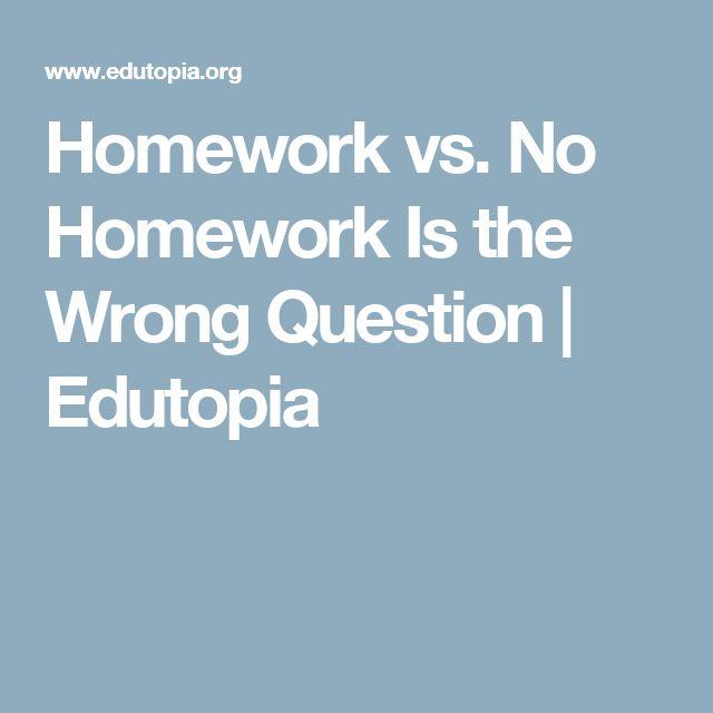 Homework vs. No Homework Is the Wrong Question | Edutopia