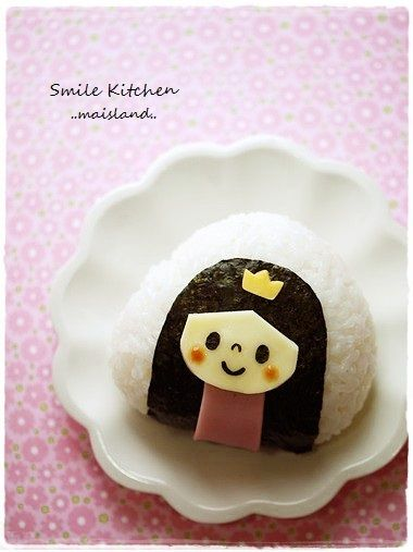 Princess girl onigiri