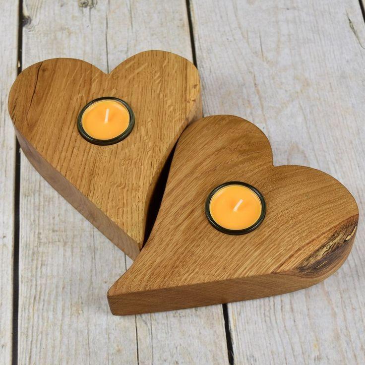 Gdyby wszystkie serca były z dębu... Eiche / Oak #donitza, #toczenie, #woodturning, #walentynki, #love