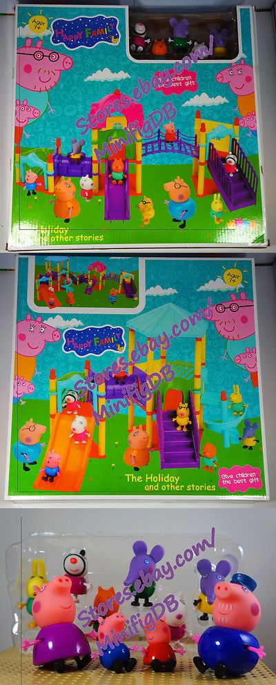 Fantasy 175693: Peppa Pig Set The Playground 10 Figures And Accessories -> BUY IT NOW ONLY: $31.99 on eBay!