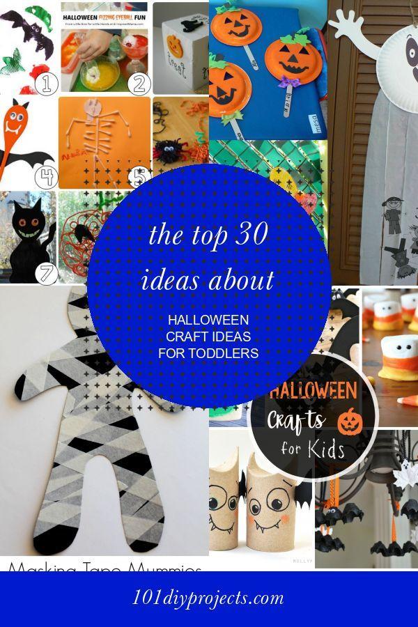 Eine Sammlung von Ideen zu den 30 besten Ideen für Halloween-Bastelideen …