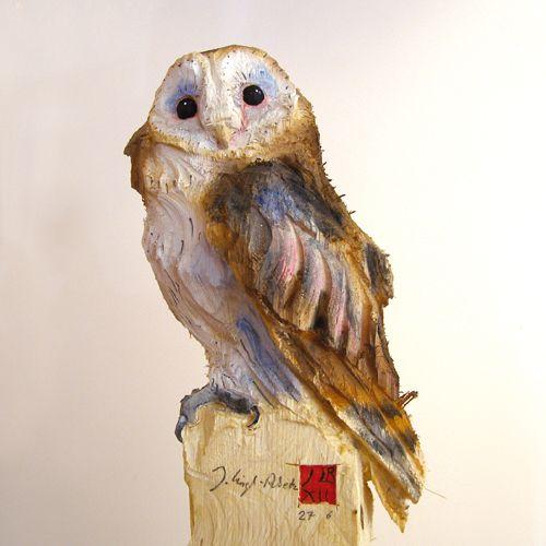 The amazing animal sculpturer Jürgen Lingl-Rebetez - Google Image Result for http://www.galerie-vanaura.com/linglrebetez/linglrebetezphotos/chouette500.jpg