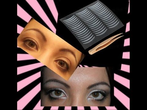 ▶ Applicazione Adesivi x Palpebre Cadenti + tutorial make-up da giorno con la pupart! - YouTube