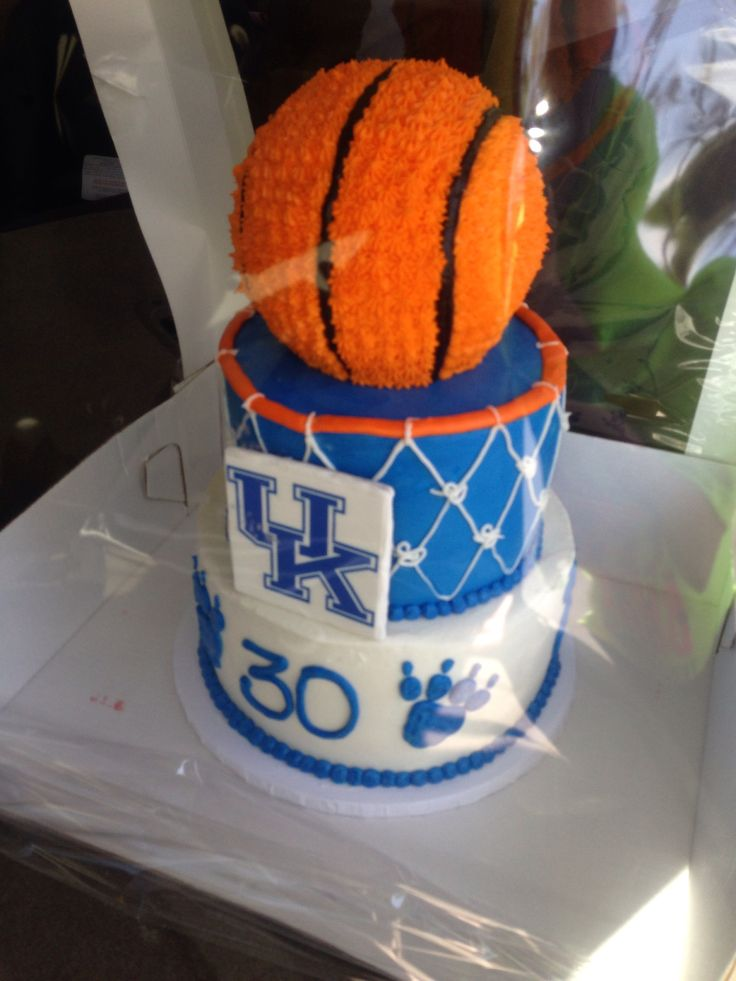 13 Best Images About Kentucky Basketball Cake On Pinterest