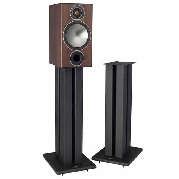 Black TransDeco TD32BA Speaker Stands 32