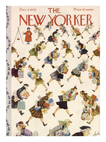 §§§ : The New Yorker Cover : 1945  : Constantin Alajalov