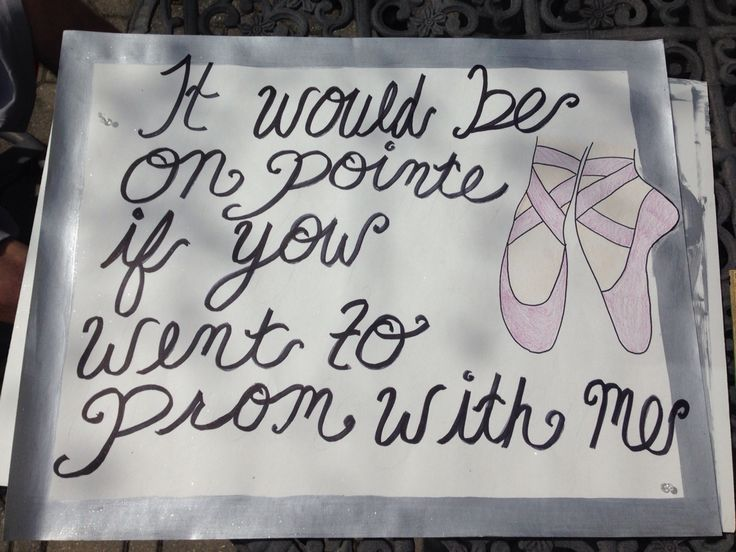 "I love it but ""en pointe""...  the only way to ask me <3"
