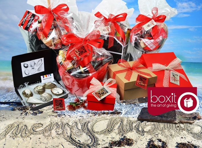 CHRISTMAS GIFT BASKETS, GIFT BOXES AND GIFT HAMPERS INSPIRED BY A NEW ZEALAND SUMMER AT THE BEACH WITH YOUR TOES IN THE SAND. SIT BACK, RELAX AND SOAK UP THE SUN! SEND SOME CHRISTMAS AND GOURMET FOOD WITH AN ICE COLD BEVERAGE TO ENJOY ON THE SIDE!