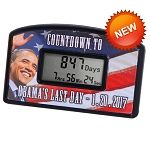 Obama's Last Day Countdown Clock 2017- christmas gift for my mother in law. To go with last year's Oven Mitt Romney
