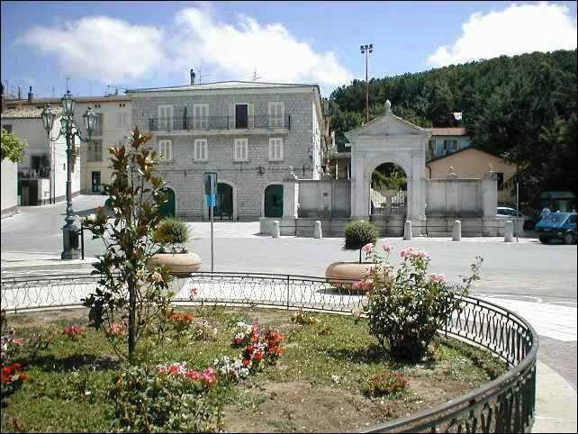 Pescopagano -Fontana nuova