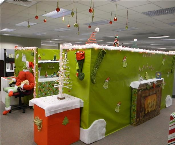 Decorating Ideas > 25+ Best Ideas About Christmas Cubicle Decorations On  ~ 063339_Christmas Decorating Ideas Work