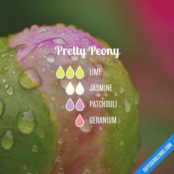 Pretty Peony - Essential Oil Diffuser Blend