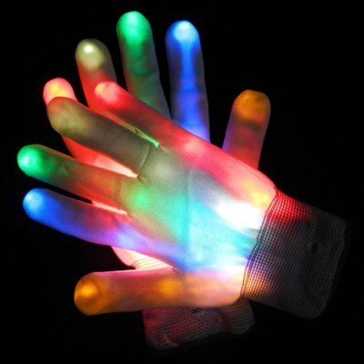 XHL-B-WI Full Finger LED Gloves-6.84 and Free Shipping| GearBest.com