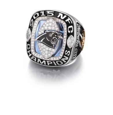 2015 Carolina Panthers National Football Championship Rings