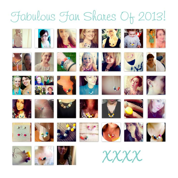 Fabulous Fan Shares of 2013  www.hand-made.com.au/ashlocdesigns