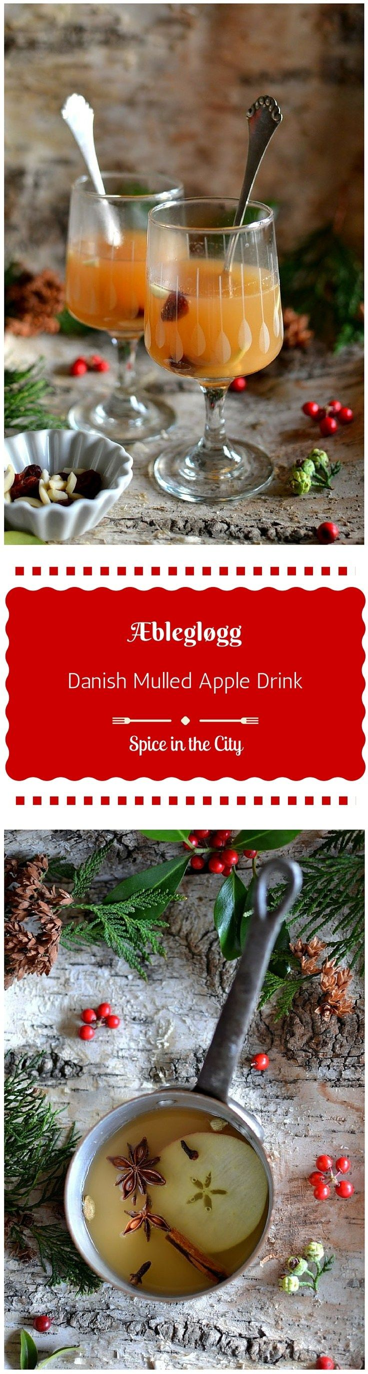 Æblegløgg {Danish Mulled Apple Drink} A gorgeous, easy, healthy and soul-warming drink that the whole family can enjoy! | Spice in the City