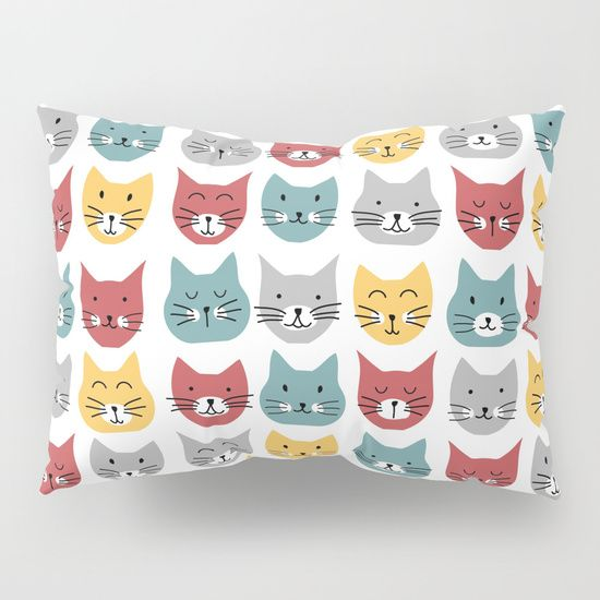 Kittens pattern Pillow Sham