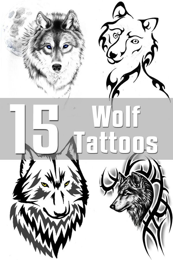 15 Wolf Tattoo Designs | The Body is a Canvas the first one is sooo pretty