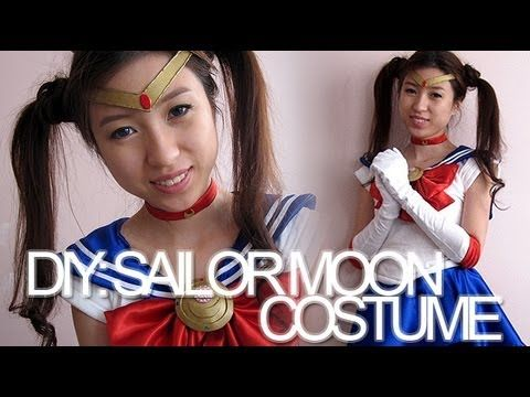DIY: Sailor Moon Costume I pretty sure I could make this!!