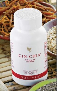 Forever Gin-Chia for better circulation, for higher energy level and increased power!