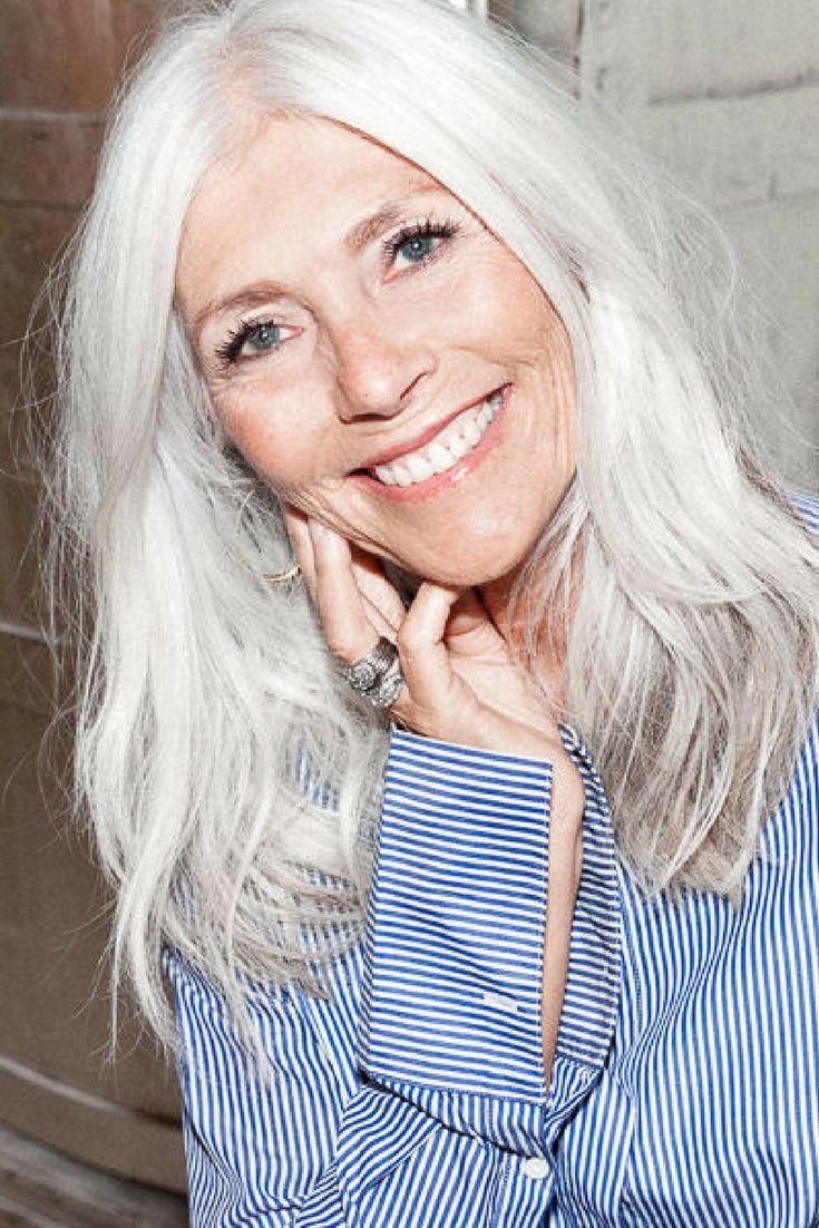Hairstylist Gun Britt on aging gracefully