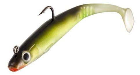 Stinger Skad Magnum Lure Pack of 2. Length; 20cm (55g). Choose from these 10 amazing colours: Rhubarb & Custard, Blue Holo, Green Mackerel Firetail, Pink Holo, Black Firetail, Sandeel Holo, Pearl Oyster, Pearl Bloodhead, Sardine Pearl & Coalie Pearl.