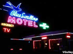 Blue Swallow Motel, Tucumcari, NM