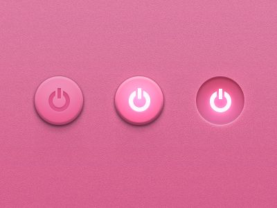 Button-pink #webdesign