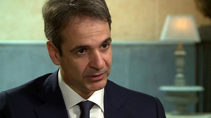 BBC's Zeinab Badawi speaks to Kyriakos Mitsotakis in his first major interview since being elected leader of Greece's main conservative opposition party, ND.