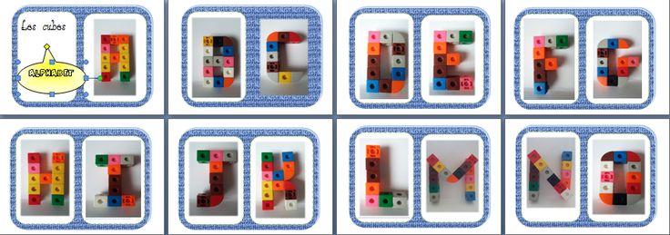 Jeu de construction : Les cubes