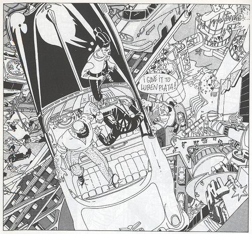Aleix Gordo Hostau - illustration, street art, comics, painting, film ...: Daniel Torres - Comic noventero