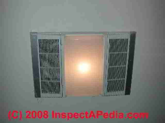 Nutone Model 605rp Heat A Vent Heater Fan Light Shop Bath