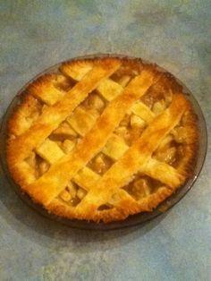 Tarte aux pommes, sucre à la crème   .recettes.qc.ca