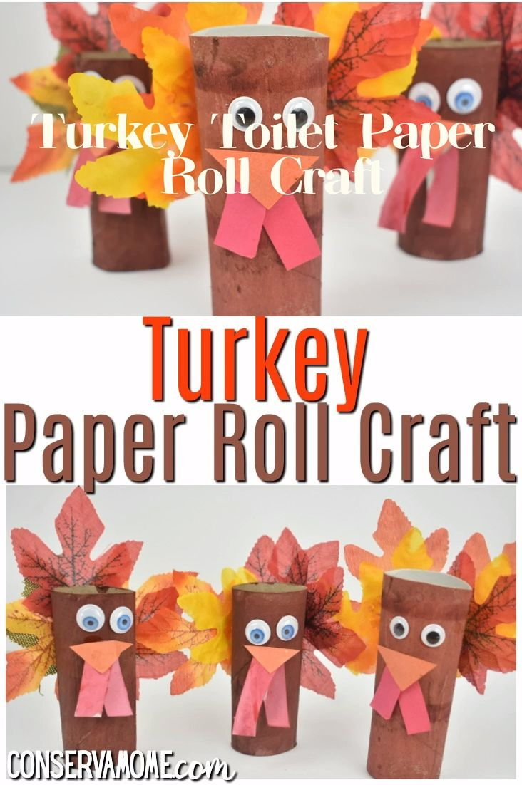 Turkey Paper Roll Craft