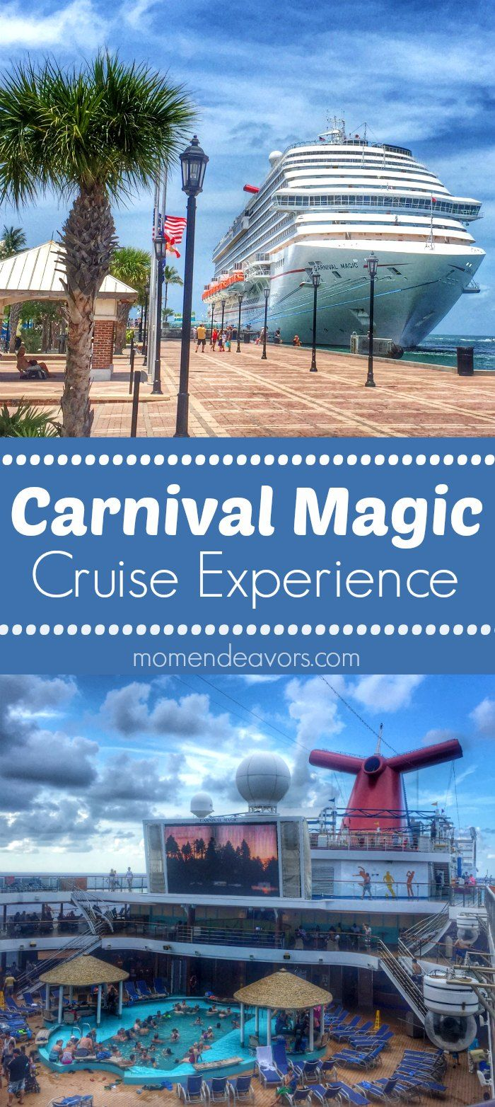 Carnival Magic Cruise Ship Experience - top 10 things on board!