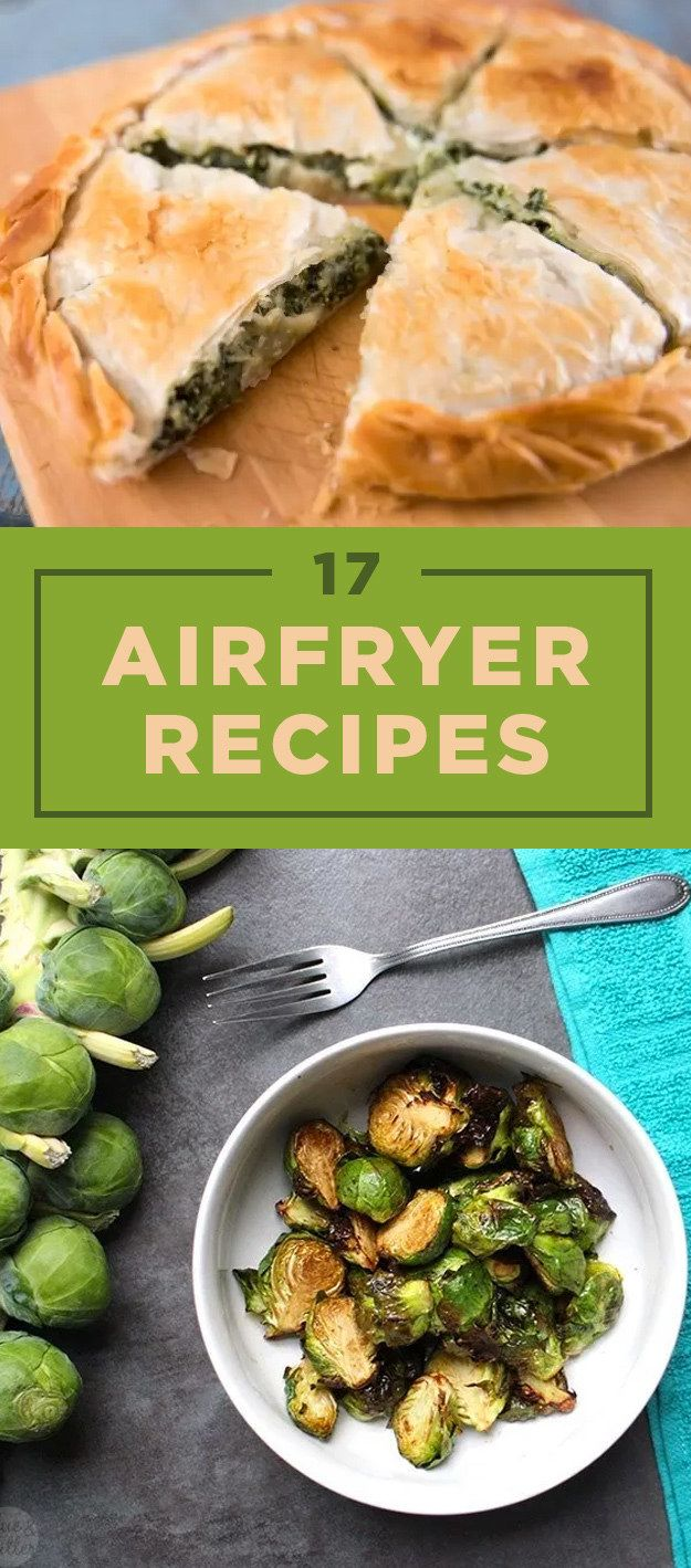 AKA, how to use that Airfryer you got for Christmas.