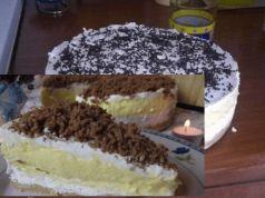 """Nemusíte nic vařit ani péct: Recept na čtyřpatrový """"Nebeský dort""""!"""