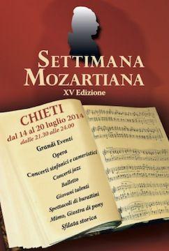 XV Settimana Mozartiana a Chieti