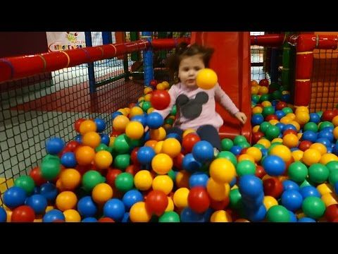 Playground Fun Play Place for Kids play centre ball playground with balls play room playroom - YouTube