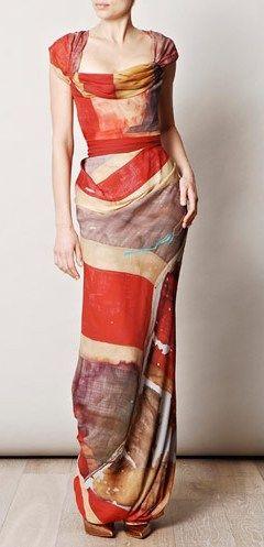Vivienne Westwood union jack dress