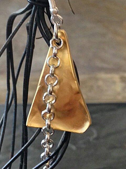 Unique handmade metalwork earrings. #perfectgift #christmasgifts #MustHaveEarrings #TrendyEarrings #unique #metalworkjewelry