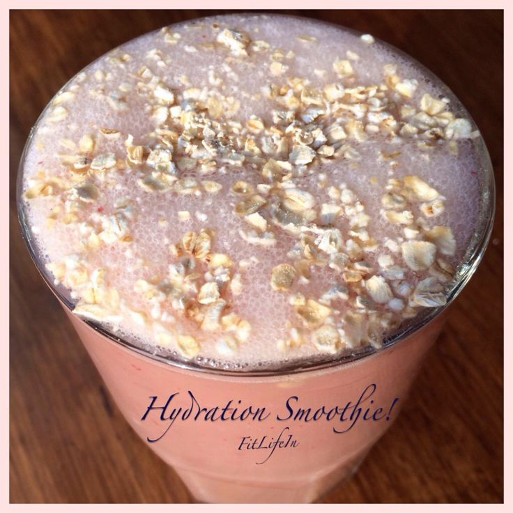 Hydration Helper!  Start your day energized & hydrated with this awesome smoothie!