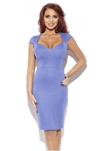 Amy Childs Pretty Blue Bodycon Orla Dress