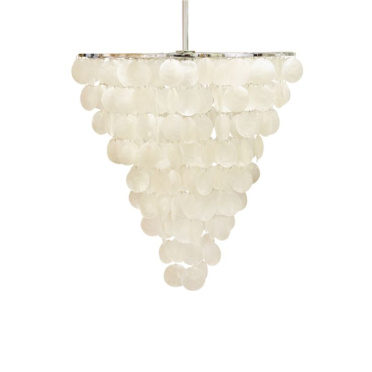 shell by night ceiling light natural