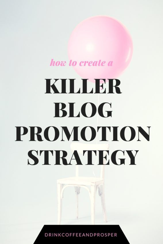 How to create a killer blog promotion strategy Blog promotion is super important folks.  You can spend hours, days, weeks creating the perfect information-rich article for your blog but without promoting it, who is going to see it?  You've probably heard of the formula: 20% content creation/80% promotion