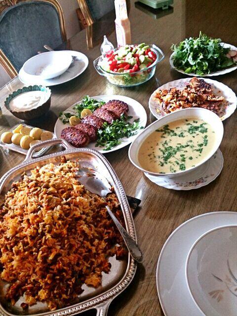 彼のママちゃんの手料理は、ほんとーーーーに美味しいんです!! - 44件のもぐもぐ - ペルシャ料理のお・も・て・な・し♥ ~イラン2013~ by あぶみん